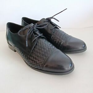 Cole Haan Jagger Weave Oxford Black Women's Size 8.5B, Style W01024 Excellent