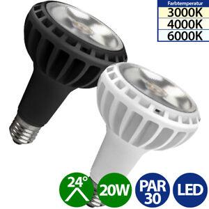 LED Strahler PAR30 E27 20W Reflektor 24° Spot warmweiß neutralweiß kaltweiß
