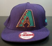 Arizona Diamondbacks New Era 9Fifty Purple Snapback Hat Cap MLB