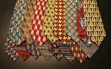 Lot of 16 NEW Stafford Designer Neck Ties with Patterns L049