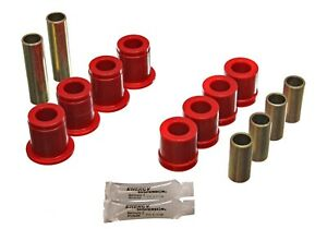 Energy Suspension Red Front Control Arm Bushing Replacement Kit For 87-95 Nissan