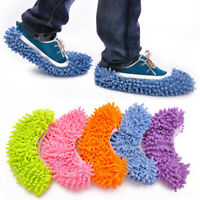 2Pcs Multifunction Dust Floor Cleaning Slippers Shoes Mop House Clean Shoes