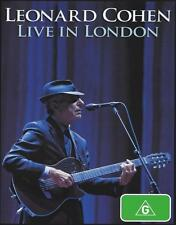 LEONARD COHEN - LIVE IN LONDON DVD ~ SUZANNE~EVERYBODY KNOWS~HALLELUJAH *NEW*