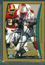 Frank Wycheck Football Auto 1998 Topps '98 Signature Autograph Signed Card #283