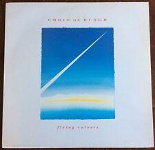 """CHRIS DE BURGH,FLYING COLOURS,VINTAGE 12""""  ALBUM,LP 33,EXCELLENT.CONDITION"""