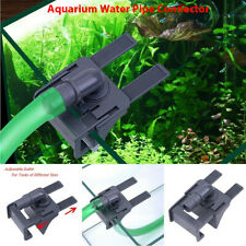 Aquarium Tank Water Pipe Clamp Hose Tube Rod Fixing Clip Mount Fixed Holder DT