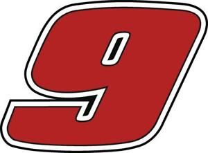NEW FOR 2021 #9 Chase Elliot Racing Sticker Decal  SM-XL various colors