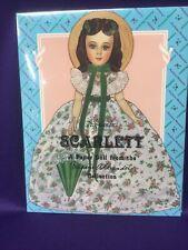 Madam Alexander, Scarlett, Paper Dolls By Peck-Gandres. Nrfb. 1993.