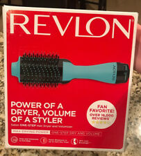 Revlon One Step Hair Dryer and Volumizer Hot Air Brush Mint New