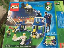 LEGO 3408 Soccer Super Sports Coverage New In Box From 2000