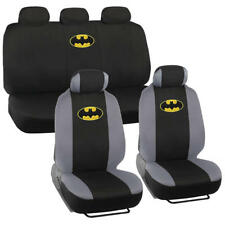 Batman Seat Covers for Car SUV Truck - Full Set Front & Rear Auto Accessories
