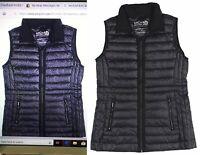 Michael Kors Packable Gilet Zip Up Down Puffer Vest Navy Blue or Black Msrp 150