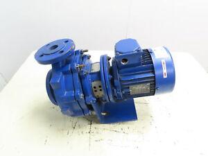 """KSB ETABLOC-GN32-200/114  Centrifugal Suction Pump 2x1.25"""" 1.1kW 1.5Hp 3Ph 480V"""
