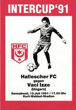 IFC 13.07.1991 Hallescher FC - Vaci Izzo (Ungarn), InterToto Cup