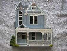 Shelia's Collectibles Wood Wooden Houses 1990 Painted Lady Atlanta Ga Queen Anne