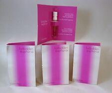 Calvin Klein FORBIDDEN EUPHORIA for Her EDP Spray Samples .04 oz  LOT of 3 NEW