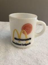 Vintage McDonalds Breakfast Brigade Coffee Mug - Buy It Now