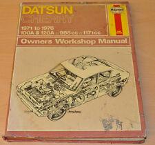 DATSUN Cherry 1971 - 1976 Reparaturanleitung Haynes Repair Manual