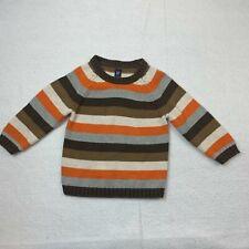 Baby Gap Toddler 18-24 Months Knit Sweater Orange Multicolor 100% Cotton