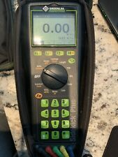 Greenlee 1155 5012 Cl Sidekick Plus Cable Tester Leads Amp Case Tdrvdsladsl