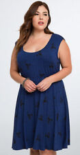 Rayon Plus Size Dresses for Women with Knit