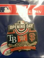 San Francisco SF Giants OPENING DAY ORACLE PARK PIN 4/5/2019 vs Tampa Bay