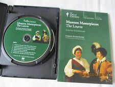 NEW SET GREAT COURSES MUSEUM MASTERPIECES: THE LOUVRE DVD AND COURSE GUIDEBOOK