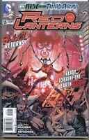 Red Lanterns 2011 series # 15 near mint comic book