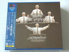 Adrian Boult Brahms Four Symphonies Overtures 3 SACD Hybrid TOWER RECORDS JAPAN