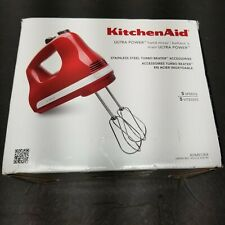NEW KHM512ER Kitchenaid 5 Speed Hand Mixer Red