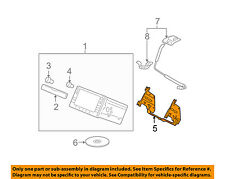 HONDA OEM 09-13 Fit GPS Navigation System-Mounting Bracket 77255TF0000