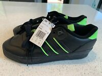 Brand New Adidas Rivalry Low EE4962 Black/Green Size    9.5