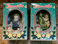 Dreamsicles Christmas Ornaments Lot Of 2