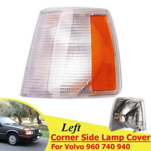 For Volvo 940 960 740 90-95 Left Driver Side Turn Signal/Corner Light Lenses