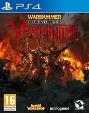 Warhammer-end times-vermintide pour pal PS4 (new & sealed)