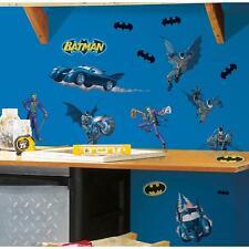 BATMAN GOTHAM Removable Vinyl Wall Decals BATMOBILE Room Decor 31 Big Stickers