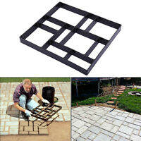 Grid Driveway Paving Pavement Mold Concrete Stepping Stone Path Maker NEW