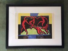 Henri Matisse La Dance Original Verve Lithograph 1938 French Favism Modern Art