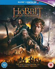 The Hobbit: The Battle Of The Five Armies [Blu-Ray] [2015]