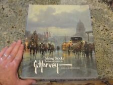 HARVEY G. Taking stock book  gerald jones PAINTINGS art SCULPTURES 1st ed signed