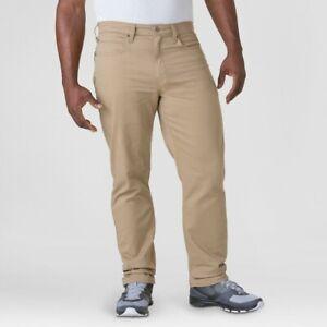 DENIZEN from Levi's Men's 231 Athletic Fit Taper Jeans (Khaki, 34X32)