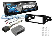 JVC WEATHERPROOF BLUETOOTH STEREO RADIO FOR HARLEY WITH HANDLE BAR CONTROLS