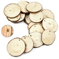 Hot Round Natural Wood Slices Diy Wooden Crafts For Painting Wedding DIY Gifts