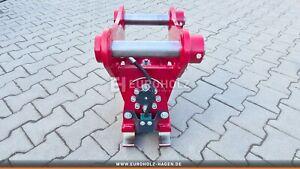 EH Schwenkmotor Drehmotor nach Maß mit Schnellwechsler passend HS03 MS03 hydr