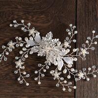 New Bridal Handmade Head flower Wedding Dress Hair Accessories Hair I1