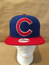 "Chicago Cubs New Era 9FIFTY ""Logo Grand Redux"" OSFA Snapback Original Fit Royal"