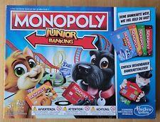 MONOPOLY Junior Banking Brettspiel ? TOP Zustand!