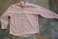 Brooks Brothers 1818 Men's Long Sleeve Button Down Shirt Flying Pig Logo Size XL