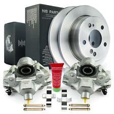 2x Bremssattel + Bremsscheiben hinten Mercedes-Benz 190 W201 W202 C124 W124