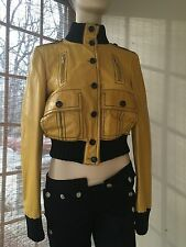 Authentic GUCCI yellow 100% gunuine woman's jacket, SZ. S, NEW